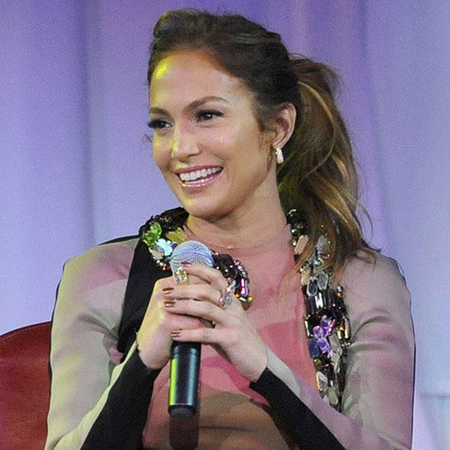 Jennifer Lopez Talking About Casper Smart and Twins Video