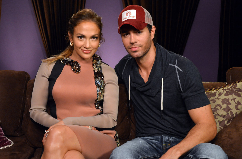 Jennifer Lopez and Enrique Iglesias got together at a press conference to announce their tour.