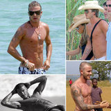 Look Back at Sexy Shirtless David Beckham For His Birthday