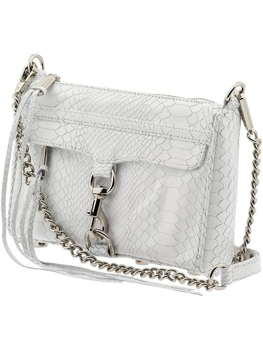 Get Eva's Sexy '50s Look: Textured White Bag