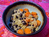 Quinoa With Black Beans and Carrots