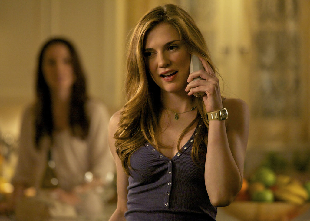 Sara Canning in The Vampire Diaries.