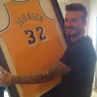 David Beckham 37th Birthday Pictures