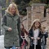 Gwyneth Paltrow Pictures With Apple and Moses in London