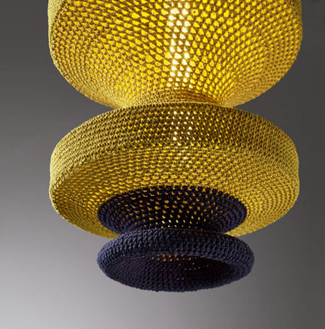 A closer look at on of the Naomi Paul pendant lamps.