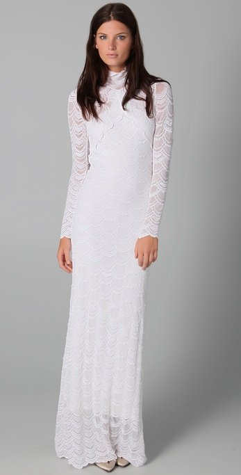 Nightcap Clothing Classic Victorian Lace Gown ($630)