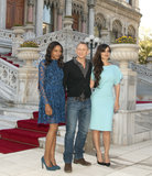 Naomie Harris, Daniel Craig, and Bérénice Marlohe attended a photocall to mark the filming of the 23rd Bond film in Istanbul.