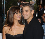Catherine Zeta-Jones had all eyes on George Clooney in September 2003.