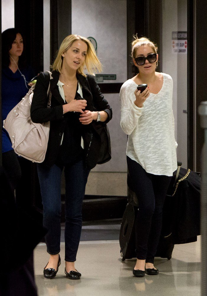 Lauren Conrad landed at LAX.