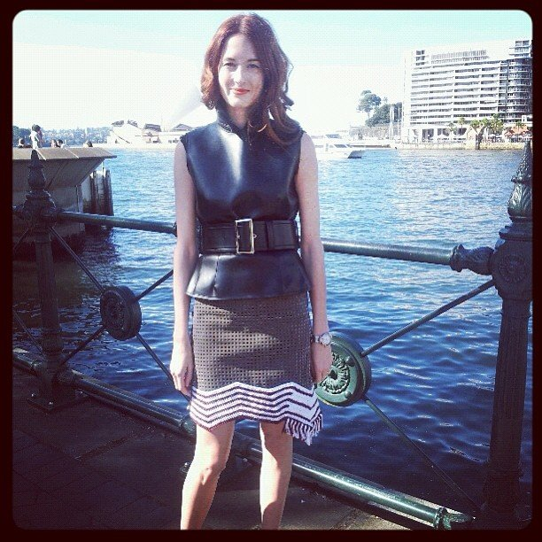 Taylor Tomasi Hill looking beyond amazing pre-Oroton show.
