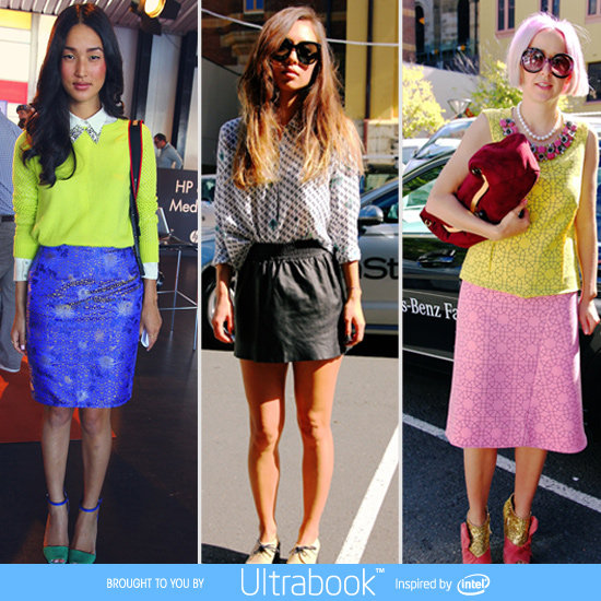 2012 MBFWA Power Pieces From The Street: Skirts