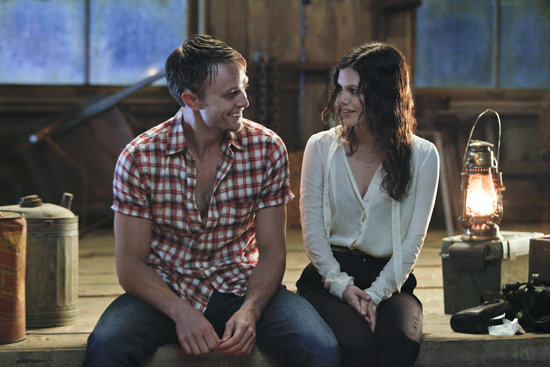 Wilson Bethel as Wade and Rachel Bilson as Zoe on Hart of Dixie. Photo courtesy of The CW