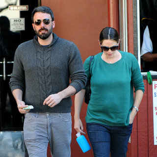 Ben Affleck New Haircut Pictures With Jennifer Garner