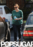 Jennifer Garner walked to her car after an afternoon of errands with husband Ben Affleck in LA.