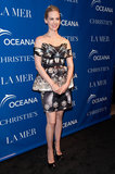 January Jones attended a screening of La Revolution Bleue in NYC looking stunning in a Mary Katrantzou dress.