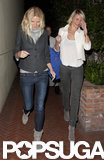 Cameron Diaz and Gwyneth Paltrow got dinner.