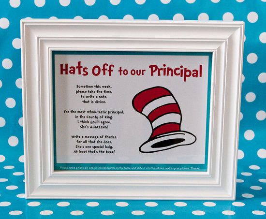 Hats Off to the Principal