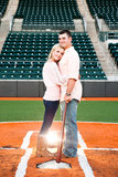 Baseball Field Engagement Shoot