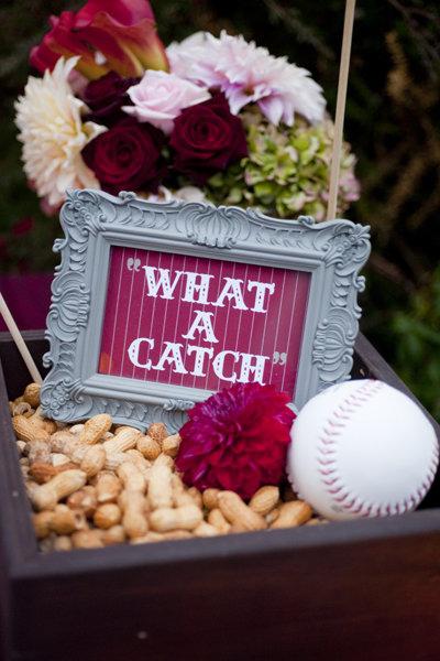 Baseball Phrase Signage