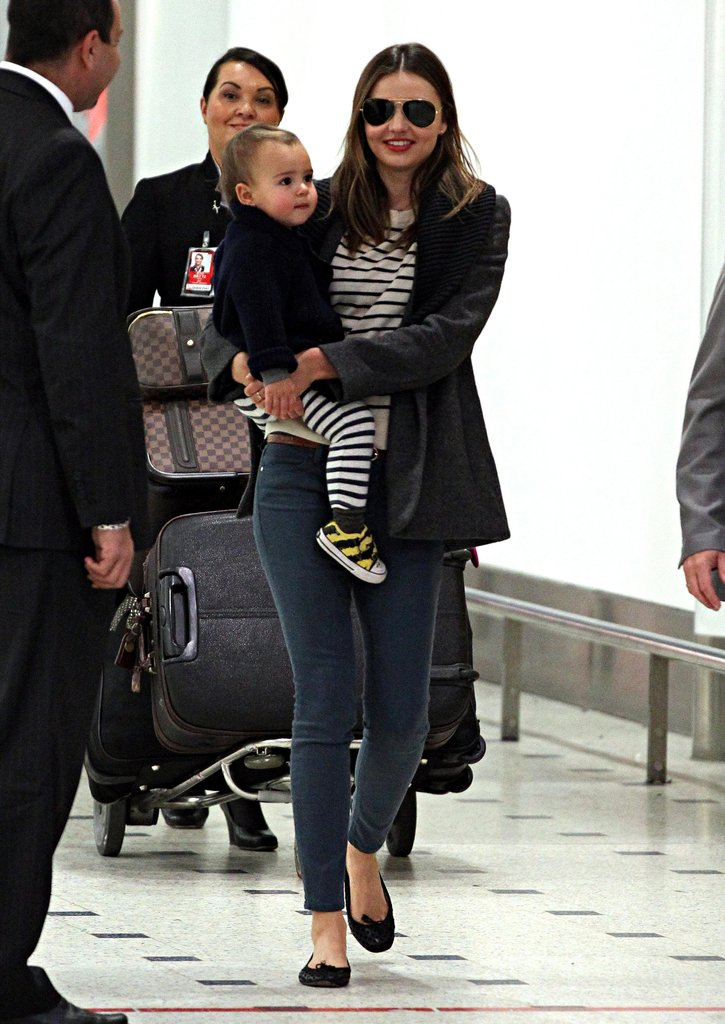 Miranda Kerr Enjoys Mother's Day With Flynn and Close Family