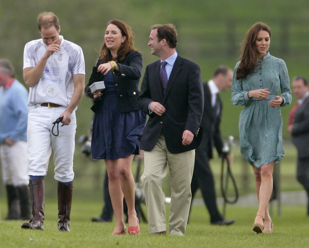 Princes William and Harry Welcome Kate to a Polo Match