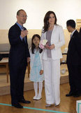 Princess Mary and Prince Frederik Travel to Korea For Official Business