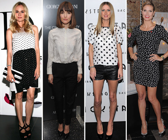 Playful Polka Dots — 20 Celebs Show How to Work Them For Day and Night