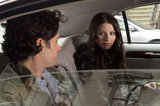 Penn Badgley as Dan Humphrey and Michelle Trachtenberg as Georgina Sparks on Gossip Girl.  Photo courtesy of The CW