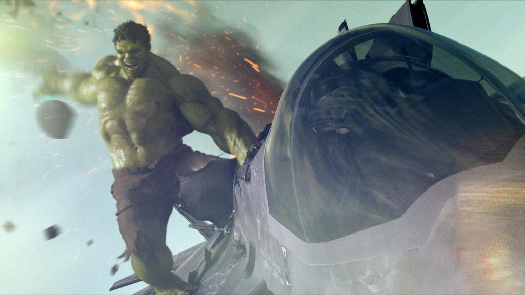 Mark Ruffalo as The Hulk in The Avengers. Photo courtesy of Disney