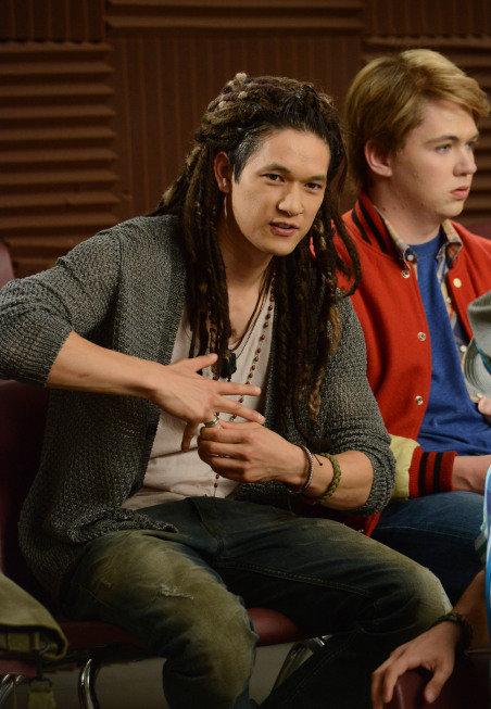 Mike moonlights as Joe, dreadlocks and all. Photo courtesy of Fox