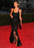 Gisele Bundchen arrived at the Met gala wearing Givenchy.