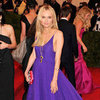 Diane Kruger in Purple Prada Pictures at 2012 Met Gala