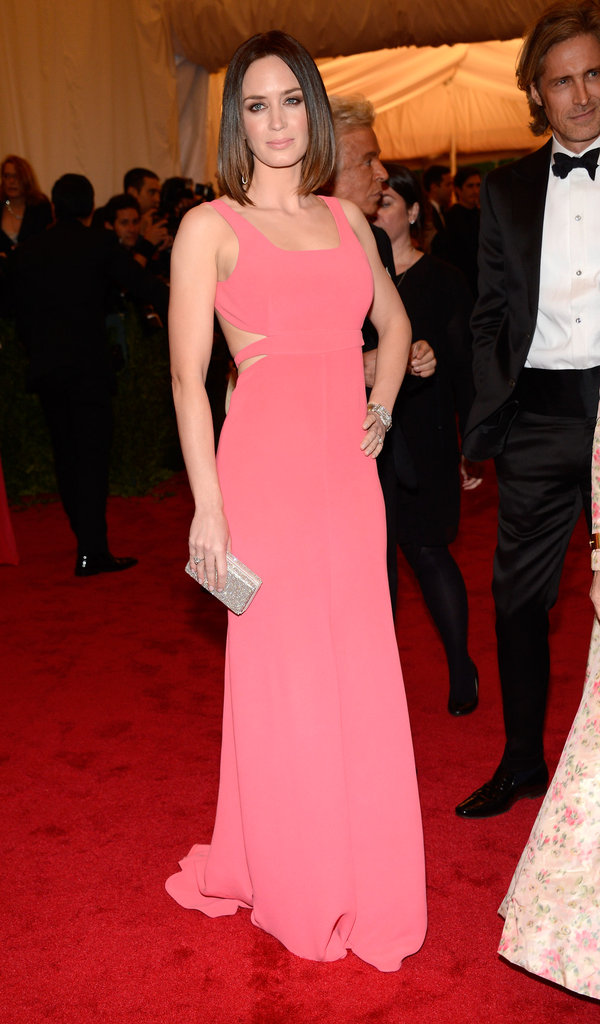 Emily Blunt and John Krasinski Go Sleek and Sexy in Calvin Klein For the Met Gala