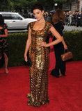 Jessica Paré Steps From Mad Men to Met Gala