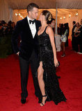 Gisele Bundchen kissed Tom Brady at the Met Gala.