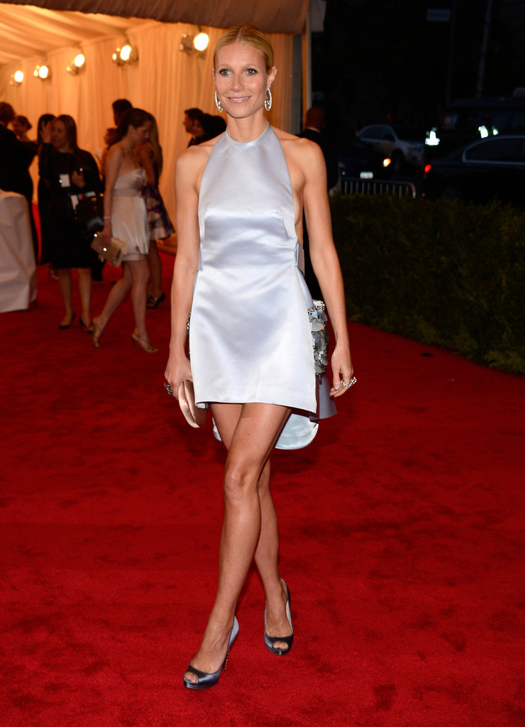Gwyneth Paltrow stepped onto the red carpet of the Met Gala wearing Prada.