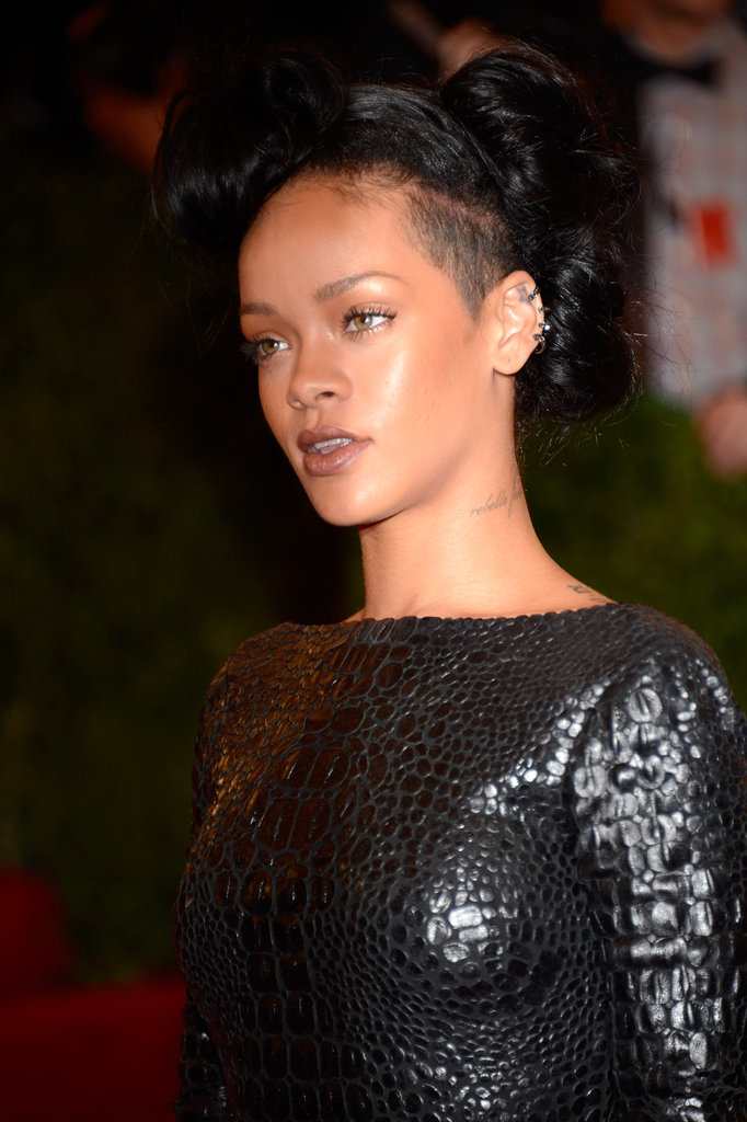 Rihanna Goes Sexy and Backless in Tom Ford at the Met Gala
