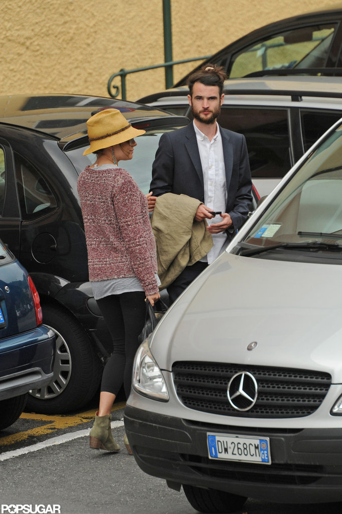 Sienna Miller and Tom Sturridge hit the streets in Italy.