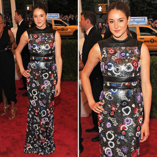 Shailene Woodley at Met Gala 2012