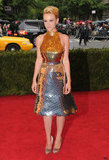 Carey Mulligan's metallic Prada dress is one-of-a-kind.