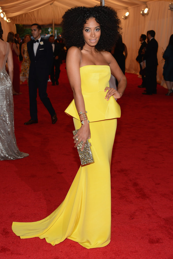 Solange Knowles in Rachel Roy.