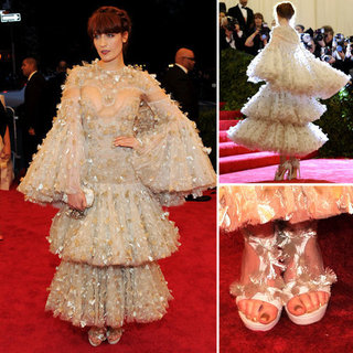 Florence Welch at Met Gala 2012