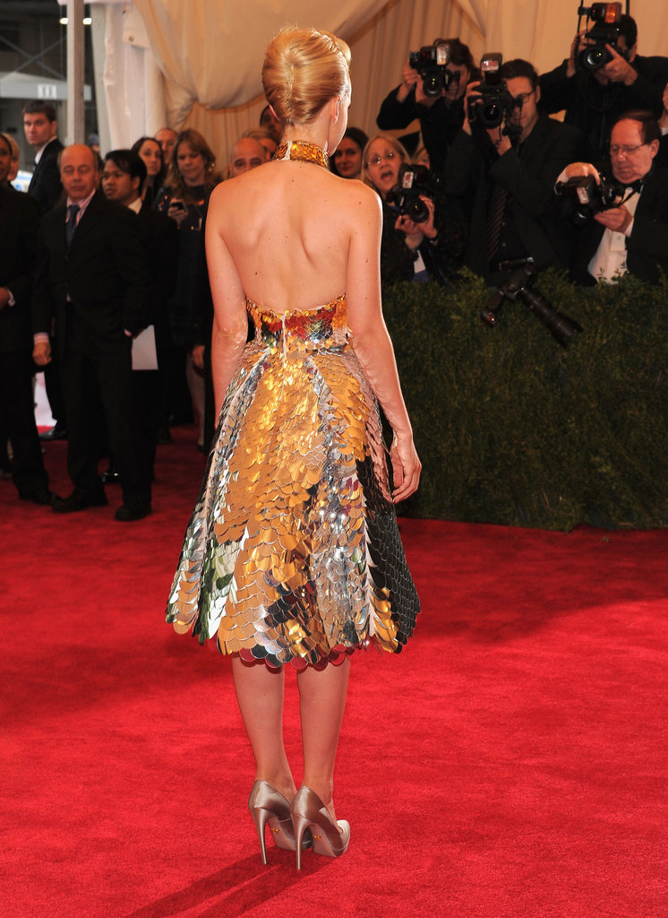 Carey Mulligan's Prada dress.