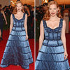 Jessica Chastain at Met Gala 2012