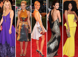 Met Gala Best Dressed Celebrities 2012