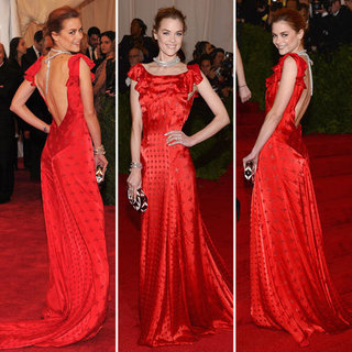 Jaime King at Met Gala 2012
