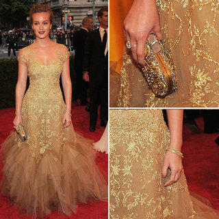 Leighton Meester at Met Gala 2012