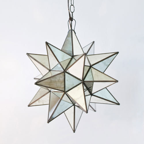 Posh Tots Star Antique Mirror Pendant ($298)