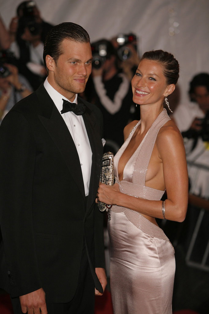 Tom Brady and Gisele Bundchen in 2008