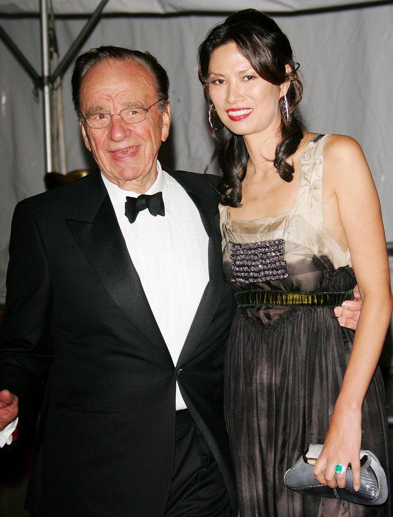 Rupert Murdoch and Wendi Deng in 2006